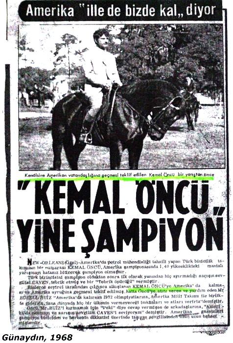 ilk Türk bayragı ceken sporcu
